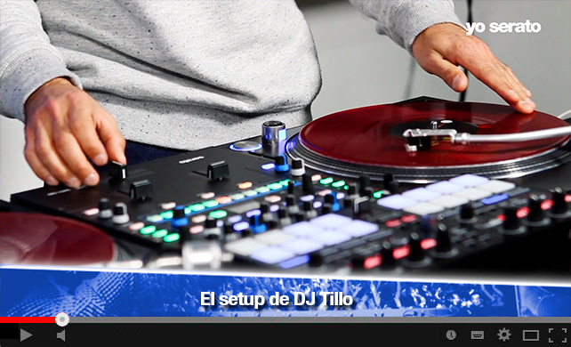 El Set up de DJ Tillo